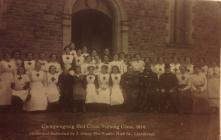 CWPENGRAIG RED CROSS NURSING CLASS 1914