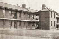 Llanion Barracks - 1906