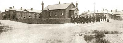 Llanion Barracks - 1913