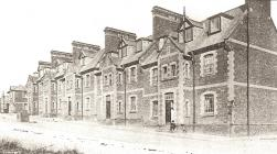 Llanion Barracks - 1907
