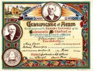 Calvanistic Methodist Certificate of Merit