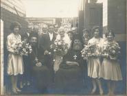 Greek wedding, Cardiff
