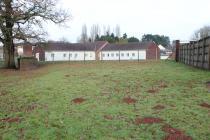 Llanfrechfa Grange: A villa from a fence