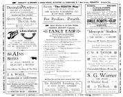 Programme 1922