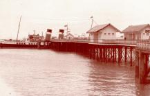 The Waverley and Penarth Pier