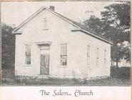 The Salem Church in Ebensburg, PA 1920