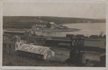 Neyland Fish Landing Stage... circa 1910