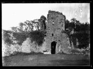 Coity Castle North-east gate interior