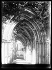 Margam Abbey central archway