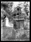 Merthyr Mawr Celtic Cross Shaft