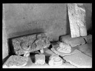 Ewenny Priory carved stones