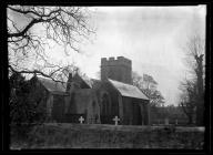 St Fagans Church from north-east