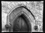 St Fagans Church North Doorway
