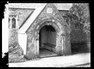 St Brides-super-Ely Church Porch Capital