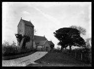 Caerau Church from south-west
