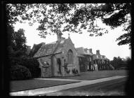 Cefn Mably chapel and south front