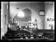 Llancarfan Church interior