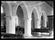 Llancarfan Church nave arches