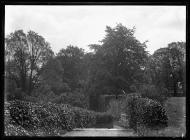Fonmon Castle garden