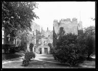 Fonmon Castle west entrance