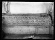 Llantrithyd Church old stone tomb
