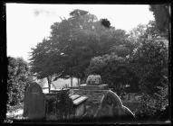 Bonvilston Churchyard cross base