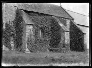 Caerwent Church south buttresses