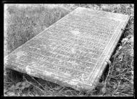 Llanelieu Church Aubrey tomb