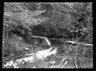 Source of the river Llwchwr in Llandeilo