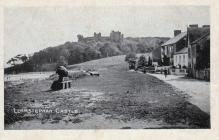 Llanstephan castle... circa 1923