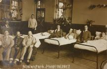 Photograph of Ninian Park Hospital, 1917