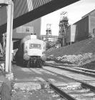 Locomotive at Oakdale Colliery 1981