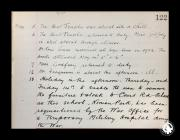 Extract of a Ninian Park School Logbook