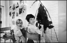 Two Young Ely Hospital Patients Paint for the...