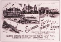 Esplanade Penarth Postcard