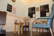 Recreated Day Room at Hensol Castle Hospital