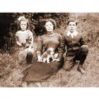 Mrs. Agnes Spargo, Beryl and Norman