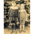 Walter and John Ernest Rees c.1915