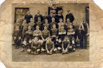 Machen Rugby Team, 1911-1912