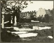 Cerrig beddau wedi'u dymchwel ar ôl corwynt 1913