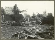 Difrod gan corwynt 1913 i Gapel Beechgrove
