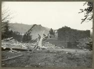 Tornado damage to Beechgrove Church in...