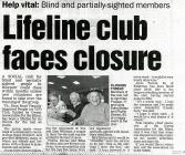 Club for the Visually Impaired
