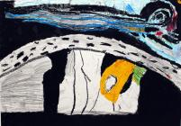 A painting by Ysgol Moelfre