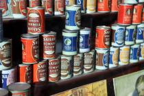 Gwalia Stores soup tins