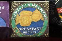 Huntley & Palmer Breakfast Biscuits sign