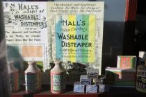 Hall's Sanitary Washable Distemper sign
