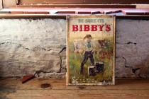 Bibby's tin sign