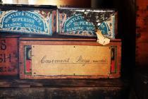 Casement Stays shop storage box