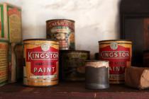 Kingston Hard Gloss paint can